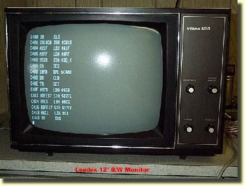 Salida KIM-1 a monitor