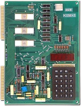 Placa Mos KIM-1